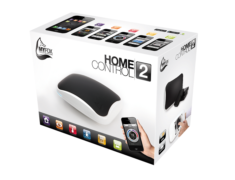 Main unit for alarms video surveillance and home automation - Myfox home control ...